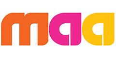 Maa TV (MAATV) international channel logo