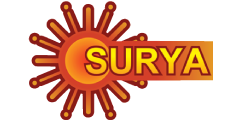 Surya Television (SURYA) international channel logo